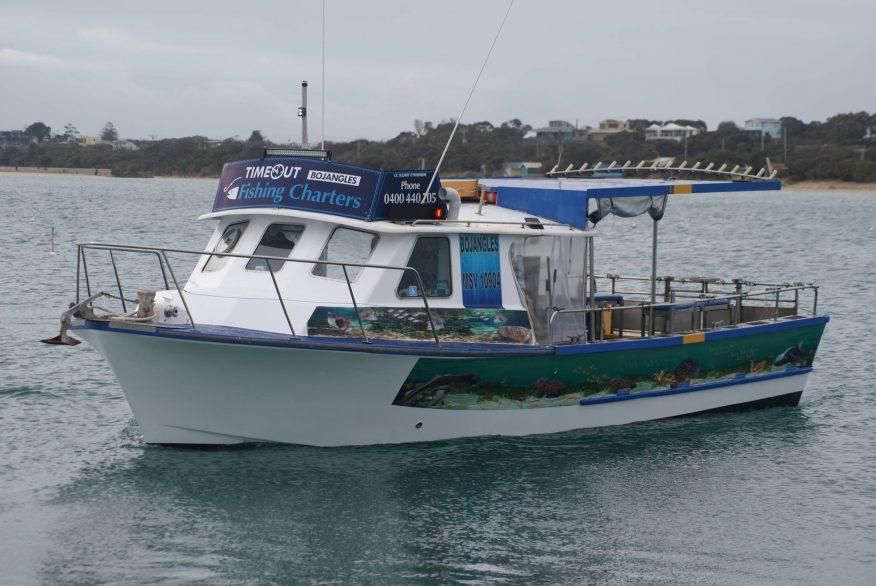 timeout fishing charters